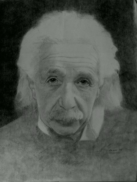Albert Einstein by sketch1961